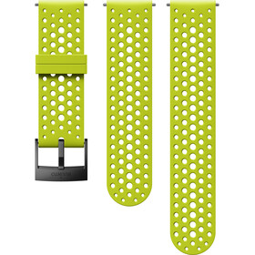 Suunto Athletic 1 Silicone Strap, lime/black